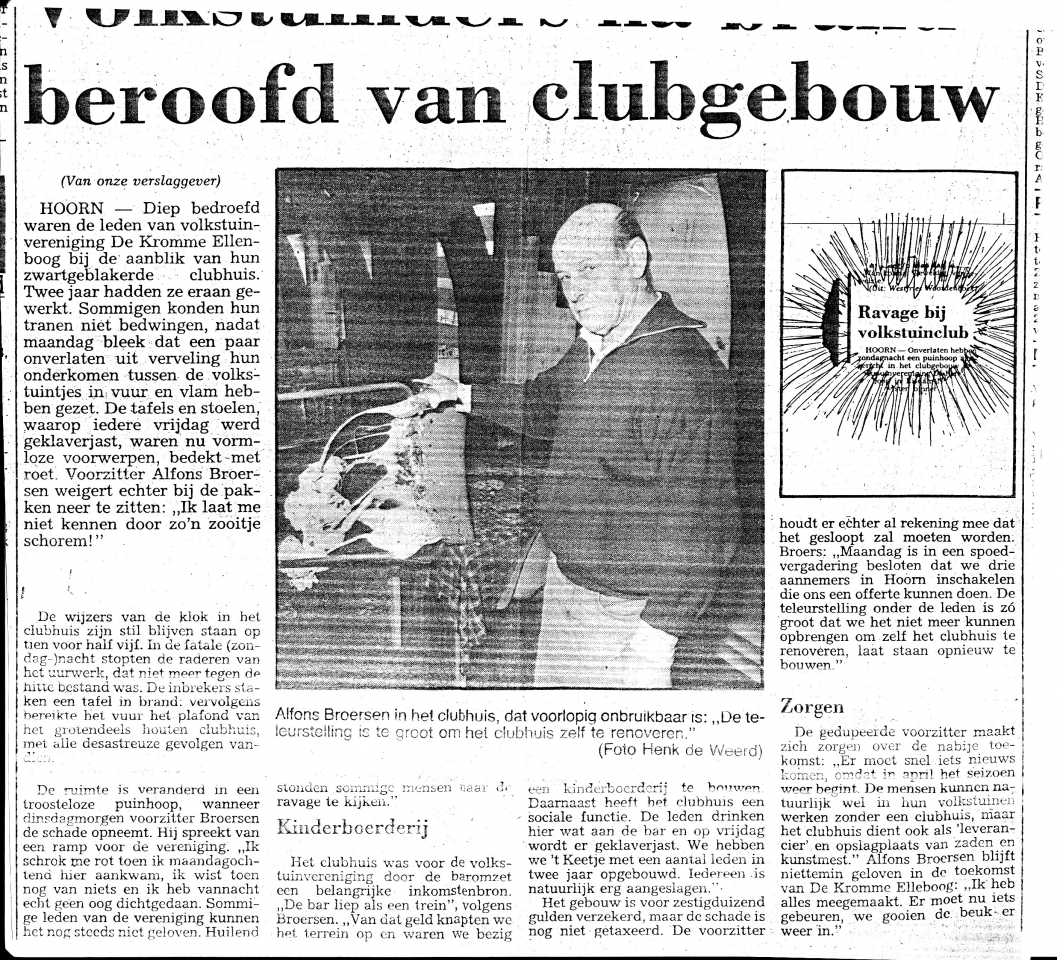 goud van oud - krantenbericht