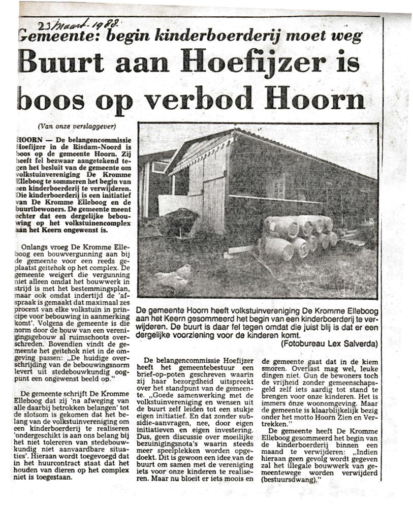 krantenbericht mrt 1988
